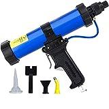 310ml Pneumatic Glass Glue Gun Silicone Gun Pneumatic Soft Glue Gun Wide Usage