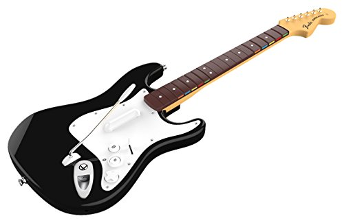 (Rock Band 4 Wireless Fender Stratocaster Guitar Controller for Xbox One - Black)
