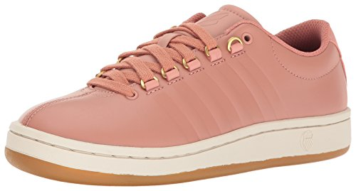 K-Swiss Women's Classic '88 II Fashion Sneaker, Cameo Brown/Eggnog/Dark Gum, 9 M US -