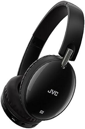 Casco JVC ha-s70bt Negro Supra-aural Cerrado inalámbrico Bluetooth con Mando y Micro