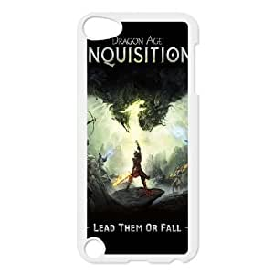 High Quality Specially Designed Skin cover Case Dragon Age Inquisition Dragon Age Dragon Inquisition iPod Touch 5 Case White