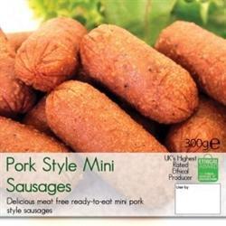 VBites Foods Mini Pork-Style Sausages (300g) VBites - Redwood