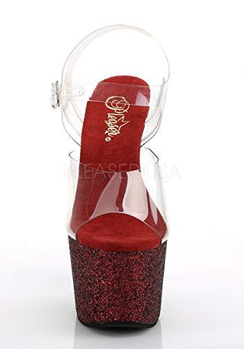Adore Glitter Pleaser Multi 708hmg burgundy Clr 4OAAPq7