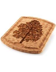 Family Tree Carver Cutting Board 19 5in X 15 75in X 1in