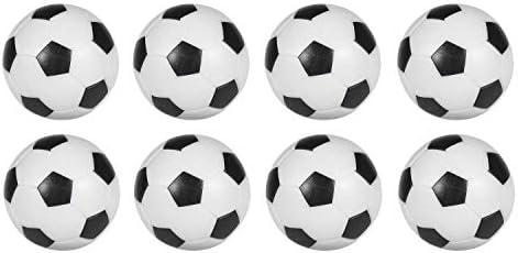 Sunfung - Juego de 8 Pelotas de fútbol de Repuesto para futbolín ...