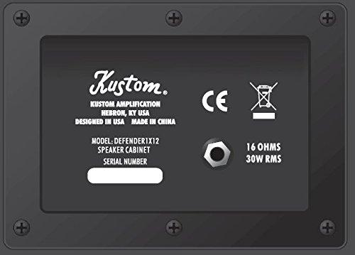 KUSTOM def1 x 12-Amplificador para guitarra Combo 30 W RMS: Amazon.es: Instrumentos musicales