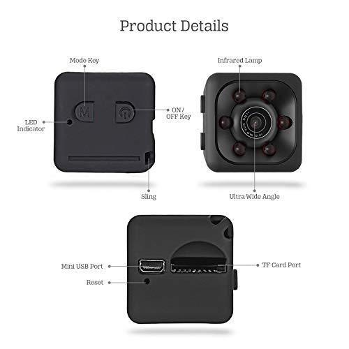 HD 1080P Mini Car Hidden DVR Camera Spy Dash Cam Night Vision Motion Detection