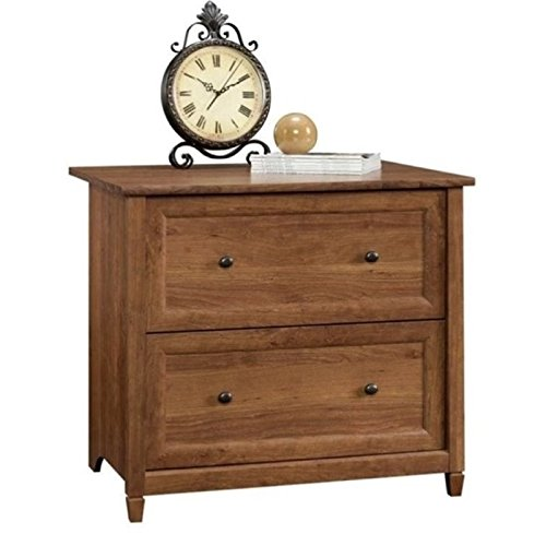 - Bowery Hill 2 Drawer File Cabinet in Auburn Cherry