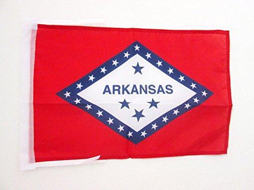 - AZ FLAG Arkansas Flag 18'' x 12'' Cords - US State of Arkansas Small Flags 30 x 45cm - Banner 18x12 in