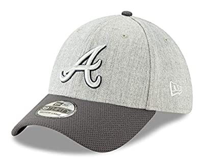 New Era Atlanta Braves MLB 39THIRTY Change Up Redux Flex Fit Hat - Gray
