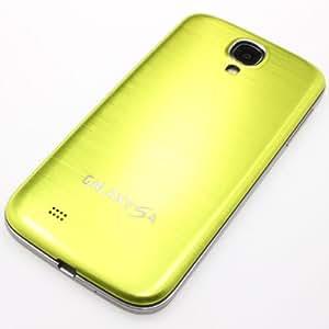 ProBagz–Tapa trasera de aluminio para Samsung Galaxy S4i9500GT-9505de verde + protector de pantalla