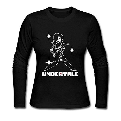 [ZEKO Women's T-shirts Undertale 1 Black] (Jessica Jones Marvel Costume)