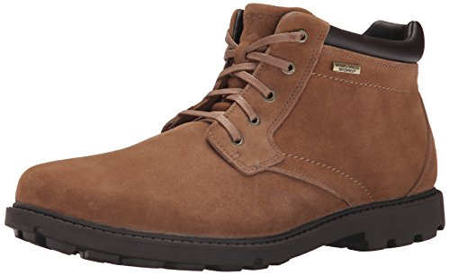 Rockport Men's Rugged Bucks Waterproof Boot Espresso Nubuck 11 W (EE)-11 W