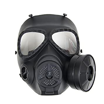 Import Type Face Gas Bk Fan Goggles Full mist-mounted M04 Mask japan
