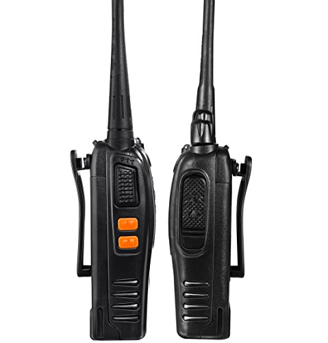 2768c2529a9 Arcshell Rechargeable Long Range Two-way Radios with Earpiece 4 Pack UHF 400 -470Mhz ...