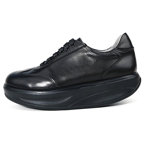 Roseg Femmes Oxford Lace Up Baskets En Cuir