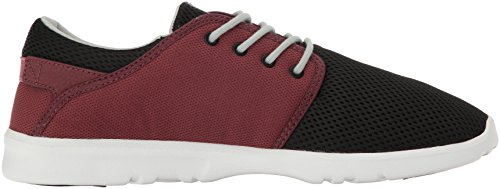 Etnies Men's Scout Trainers, Black/Red/Grey