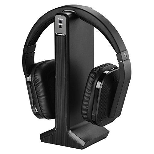 Thomson digitale draadloze koptelefoon Zonder DAB-tuner zwart