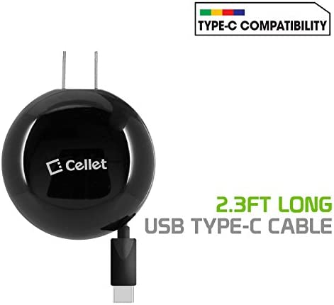 Cellet TCUSBC30R Powerful Retractable Compatible