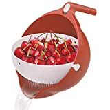 DLD Multifunctional Kitchen Cutting Board Storage Container,plastic Strainer Strainers And Colanders Drain Basket Fruit And V