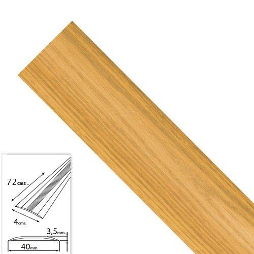 Wolfpack 2541125 Tapajuntas Adhesivo Para Moquetas Aluminio Roble 82, 0 cm. A Forged Tool