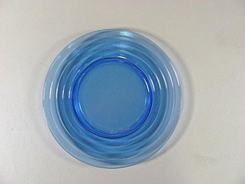 Hazel-Atlas Glass MODERNTONE-COBALT BLUE Luncheon Plates(s) Multi Avail