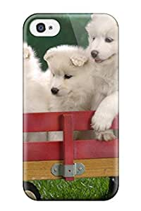 High Impact Dirt/shock Proof Case Cover For Iphone 4/4s (waiting For The Parade) wangjiang maoyi