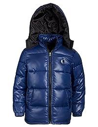 Ixtreme Boys Down Alternative Winter Hooded Puffer Bubble Jacket Coat