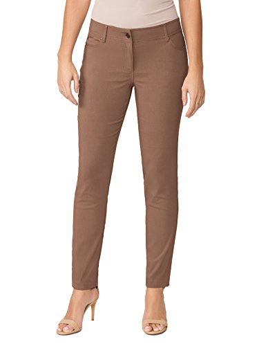 89th + Madison Women's Five Pocket Stretch Straight