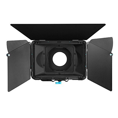 Filter Dv Box Matte - FOTGA DP3000 M3 PRO Swing-away Matte Box Sunshade for Quick Lens Change 15mm Rod DSLR Rail Support Rig System with Donuts, Filter Trays, French Flags, Side Wings