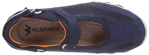 Allrounder By Mephisto Niro Femmes Mary Jane Chaussures Basses Bleu (indaco / Indaco)