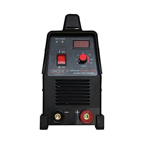 LONGEVITY 721405557523 Stickweld 140 140-AMP Dual Voltage Protable Stick Welder by Longevity (Image #4)