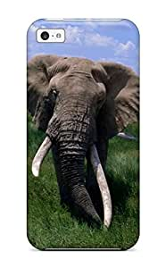 Hot Fashion Dkfcpdy4652mRLEb Design Case Cover For Iphone 5c Protective Case (elephant)