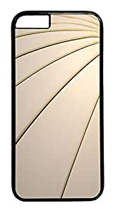 ACESR Curve Streak iPhone 6 Hard Case PC - Black, Back Cover Case for Apple iPhone 6(4.7 inch) by lolosakes