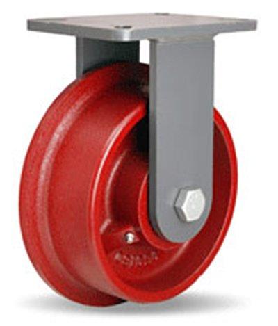 Rigid-Caster-8-x-2-14-Single-Flange-Track-Wheel-Large-Top-Plate