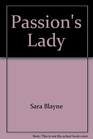 book cover of Passion\'s Lady