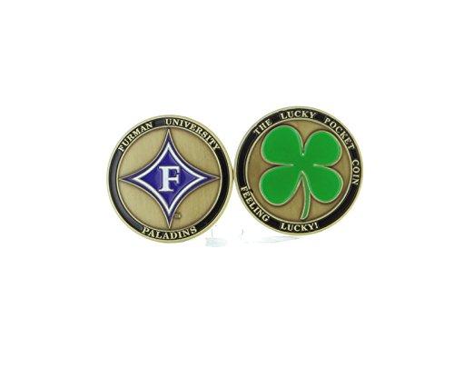 Alumni Associtation New! Furman University Paladins Ball Marker, Golf, Brat Lucky Pocket Coin