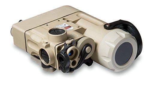 Steiner eOptics Model 9002 DBAL-D2 Dual Beam Aiming Laser with IR LED Illuminator, Desert Sand