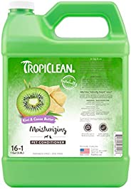 COSMOS 060166 TropiClean Kiwi and Cocoa Butter Pet Conditioner, 1 Gallon