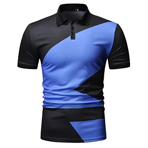 Stoota Men Fashion Polo Shirt,Blouse Shirt Dry Fit