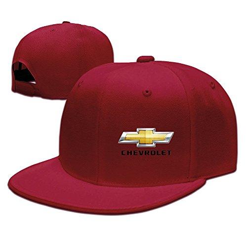 POY-SAIN Chevrolet Logo Baseball Hat Cap for Adult Red