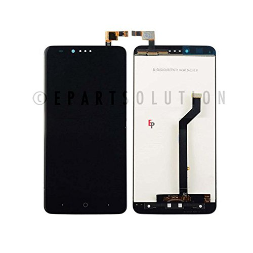 uch Digitizer Screen Glass Lens Assembly Black for ZTE Zmax Pro Z981 Replacement Part USA Seller ()