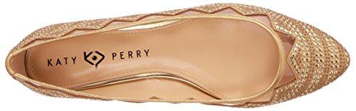 Katy Perry Kvinders Den Hesita Ballet Flad Guld Nr0avrg