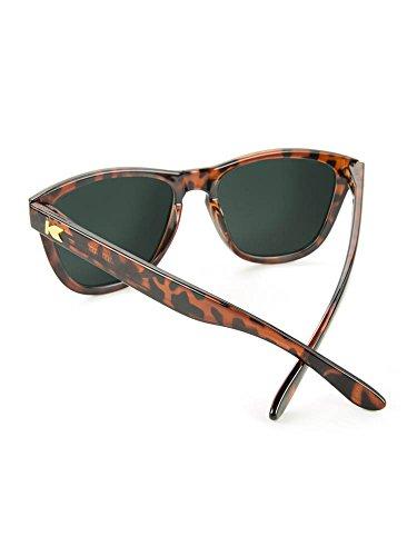 KNOCKAROUND Moonshine Premiums Glossy Polarized Shell Sunglasses Tortoise Green xROv6xqB