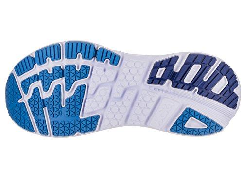 Hoka One One Mens Bondi 5 Grigio Antracite / True Blue Scarpa Da Corsa 10 Uomini Us