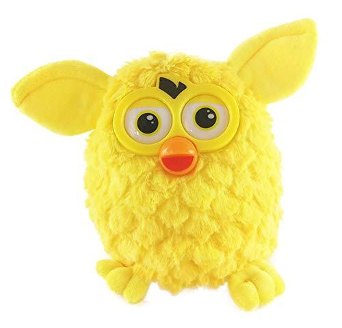 Suduone Owl Plush Interactive Toy - Plush Toy Mimics What You Say - Talking Plush Toy (Vibrant Yellow)