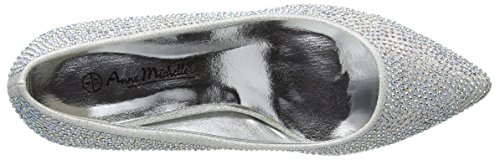 Kidderminster Talons Argent Femme et Argenté Ballerines Footwear F9811 rnWBZwrx