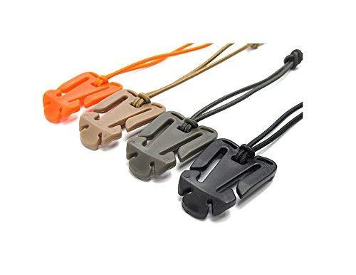 Energystation 10 piezas de correas de Molle hebilla de cord/ón el/ástico de correa t/áctica con sujetador multifuncional de cadena el/ástica para mochila//camping//senderismo