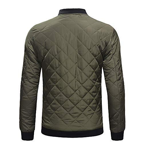Slim Cappotto Del Rivestimento Verde Caldo Uomini Camicia Superiore Spessa Fit Casuale Tuta Needra Inverno Sportiva BdwTnvxqII
