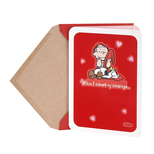 Snoopy Valentines Day (Hallmark Peanuts Valentine's Day Card (Linus, Snoopy, and Woodstock)